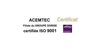 Certification ISO 9001 v2015