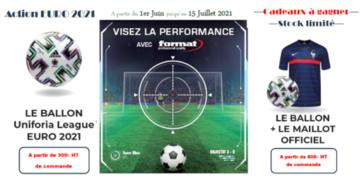 Action Format Cadeaux à gagner EURO 2021